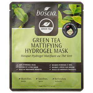 Green Tea Mattifying Hydrogel Mask by Boscia