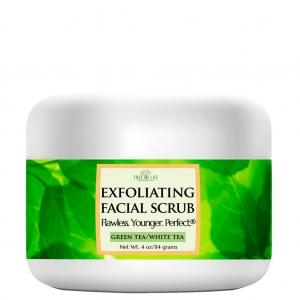 Green Tea/White Tea Exfoliating Facial Scrub by Tree of Life Beauty