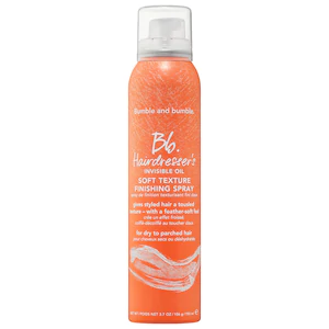 Hairdresser's Invisible Oil Soft Texture Finishing Spray by Bumble and bumble