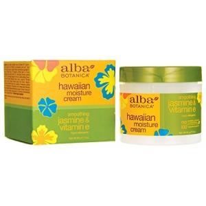 Hawaiian Moisture Cream Smoothing Jasmine & Vitamin E by Alba Botanica