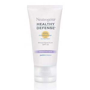 Healthy Defense Daily Moisturizer SPF 50 with Purescreen for Sensitive Skin by Neutrogena