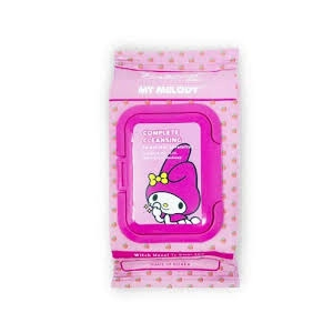 Hello Kitty My Melody Complete Cleansing Witch Hazel Towelettes by The Crème Shop