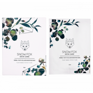 Herbal Youth Collagen Boosting Mask by Snow Fox Skin Care
