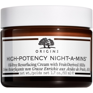 High-Potency Night-A-Mins Oil-Free Resurfacing Cream with Fruit-Derived AHAs by Origins