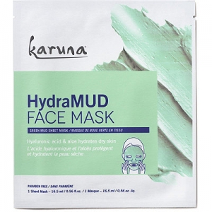 HydraMud Face Mask Green Mud Sheet Mask by Karuna