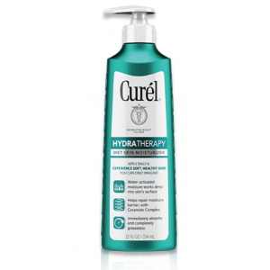 Hydra Therapy Wet Skin Moisturizer for Dry and Extra-Dry Skin by Curél