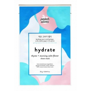 Hydrate Sheet Mask - Thyme + Morning Calm Flower by Peach Slices