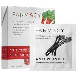 Hydrating Coconut Gel Mask - Anti-Wrinkle (Rhubarb) by Farmacy