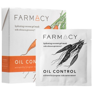 Hydrating Coconut Gel Mask - Oil Control (Carrot) by Farmacy