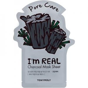 I'm Real Charcoal Mask Sheet by TonyMoly