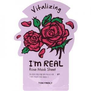 I'm Real Rose Mask Sheet by TonyMoly