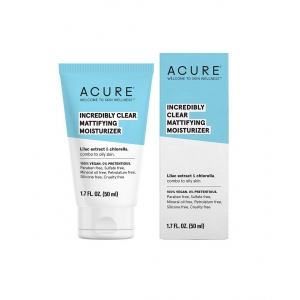 Incredibly Clear Mattifying Moisturizer by Acure