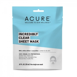 Incredibly Clear Sheet Mask by Acure