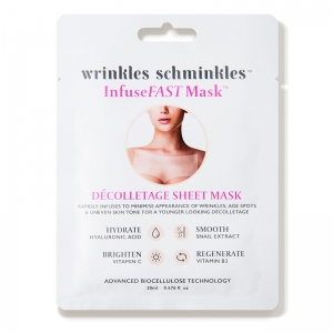 InfuseFAST Décolletage Sheet Mask by Wrinkles Schminkles