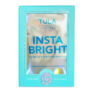 Insta Bright Energizing & Brightening Sheet Mask by Tula Skincare