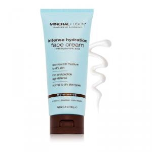 Intense Hydration Facial Cream with Hyaluronic Acid by Mineral Fusion