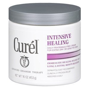 Intensive Healing Cream Daily Fragrance-Free Cream by Curél