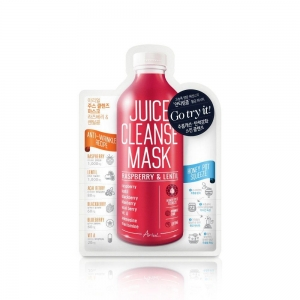 Juice Cleanse Mask - Raspberry & Lentil by Ariul