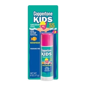 Kids Sunblock Stick SPF 55 by Coppertone