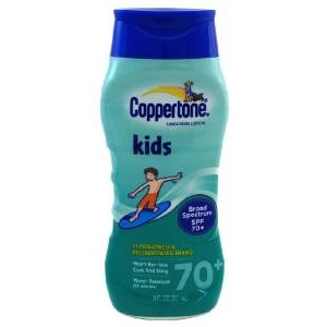 Kids Sunscreen Lotion SPF 70+ by Coppertone