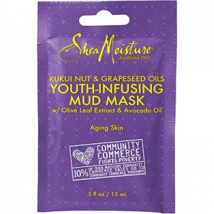 Kukui Nut & Grapeseed Oils Youth-Infusing Mud Mask w/Olive Leaf Extract & Avocado Oil by Shea Moisture