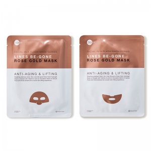 Lines Be-Gone Rose Gold Mask by Skin Inc.