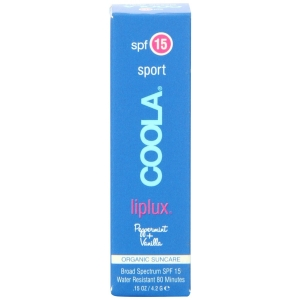 Liplux SPF 15 Sport Peppermint Vanilla by Coola