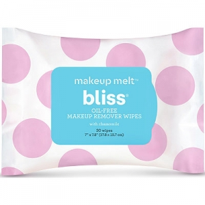 Makeup Melt Oil-Free Makeup Remover Wipes by Bliss