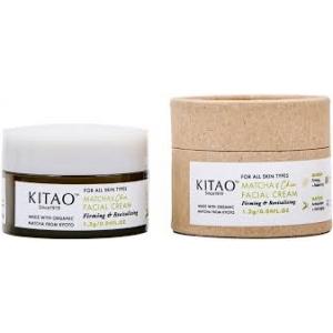 Matcha + Chia Facial Cream by Kitao