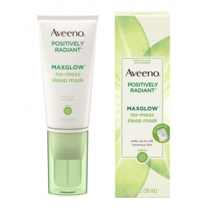 MaxGlow No Mess Sleep Mask by Aveeno