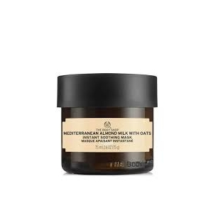 Mediterranean Almond Milk With Oat Instant Soothing Mask by The Body Shop