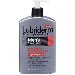 Men's 3-in-1 Lotion Light Fragrance by Lubriderm for Men
