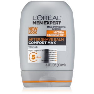 Men's Expert Comfort Max Anti-Irritation After Shave Balm with SPF 15 Sunscreen by L'Oreal Paris for Men