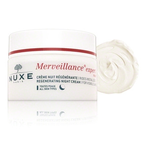 Merveillance Expert Night - Regenerating Night Cream for Visible Lines by Nuxe