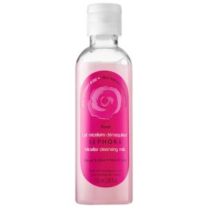 Micellar Cleansing Water & Milk - Rose - Ultra-Moisturizing & Brightening  (Milk) by Sephora Collection