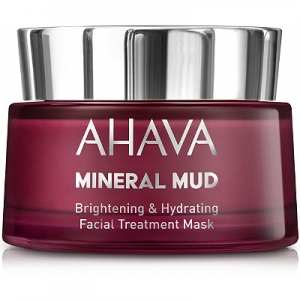 Mineral Mud Brightening & Hydrating Facial Treatment Mask by Ahava