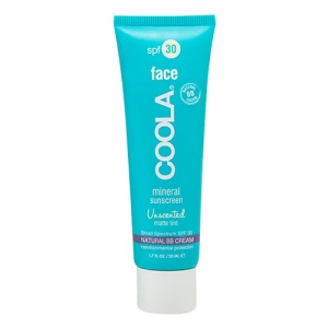 Mineral Sunscreen Face SPF30 Unscented Matte Tint by Coola