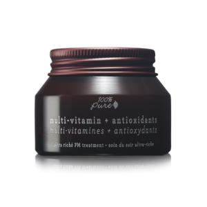 Multi-Vitamin + Antioxidants Ultra Riche PM Treatment by 100% Pure