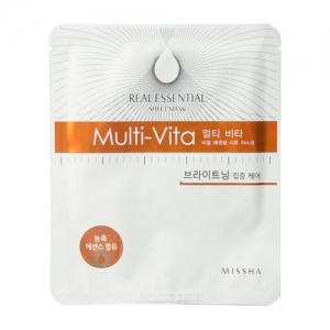 Multi Vita Real Essential Sheet Mask by Missha