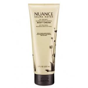 My Secret Super Moisturizing Body Cream by Nuance Salma Hayek