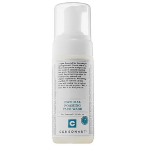 Natural Foaming Face Wash by Consonant Skincare