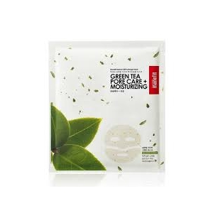 Natural Gift Green Tea Pore Care Sheet Mask by Manefit