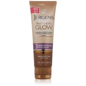 Natural Glow 3 Days to Glow Moisturizer Medium to Tan Skin Tones by Jergens