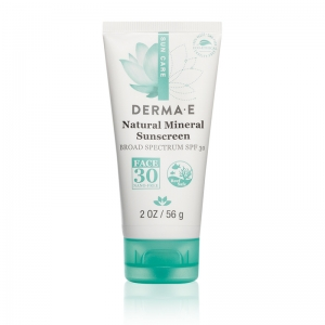 Natural Mineral Sunscreen Broad Spectrum SPF 30 Face by Derma E