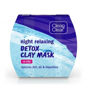 Night Relaxing Detox Clay Mask by Clean & Clear