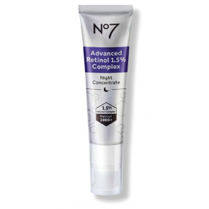 No7 Advanced Retinol 1.5% Complex Night Concentrate by Boots
