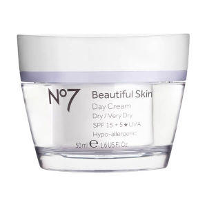 No7 Beautiful Skin Day Cream for Dry/Very Dry Skin by Boots