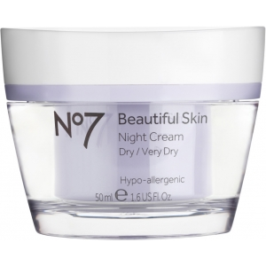 No7 Beautiful Skin Night Cream for Dry/Very Dry Skin by Boots