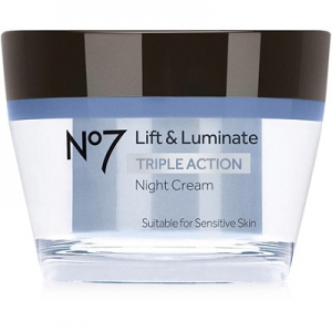 No7 Lift and Luminate Triple Action Night Cream by Boots