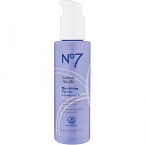 No7 Radiant Results Nourishing Micellar Cleansing Oil by Boots